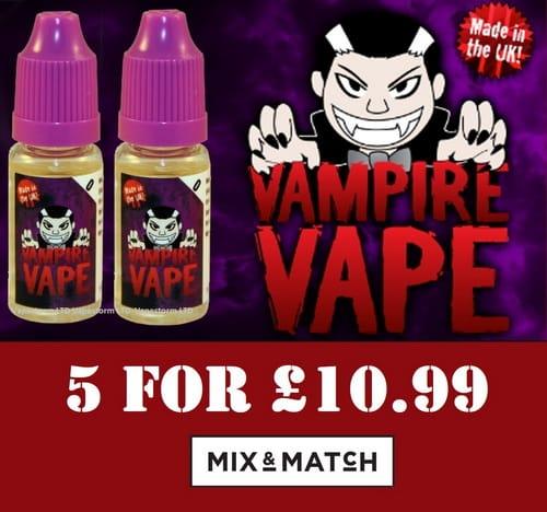 vampire vape e liquid