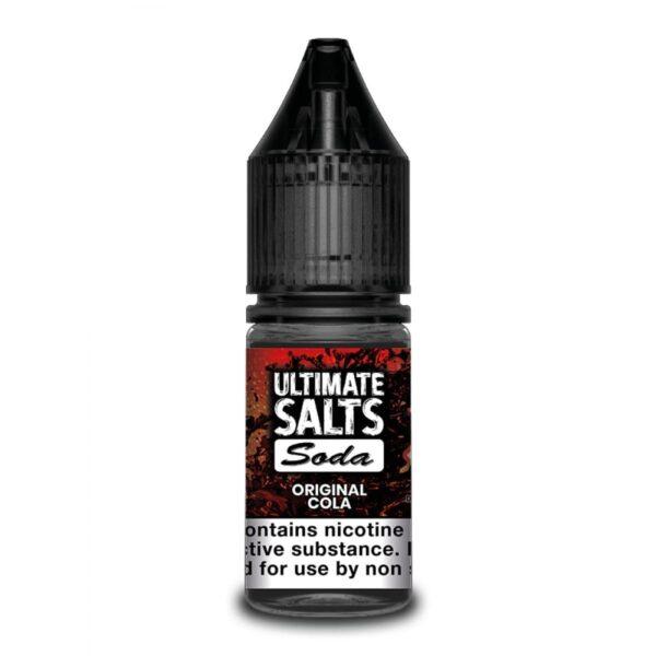 Ultimate Salts Soda Original Cola